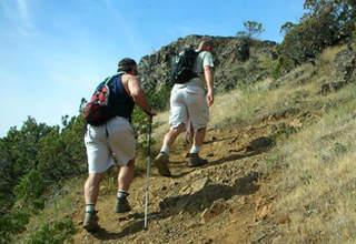 Hiking mount Karasimbi