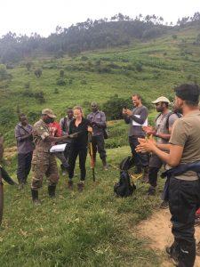 Hiking mount Karasimbi Rwanda-DR Congo